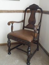 Vintage Oak Armchair in Tinley Park, Illinois