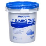 "Leslie's Pool Supply 3"" Jumbo Chlorine Tabs in Vacaville, California"