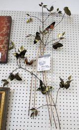 1982 Curtis Jere Branches and Butterflies Wall Sculpture in Bolingbrook, Illinois