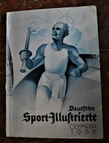 Deutsche Sport-Illustrierte Olympia 1936 Sale or Trade in Ramstein, Germany