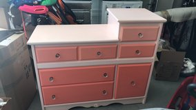 Custom Painted Dresser in Camp Pendleton, California
