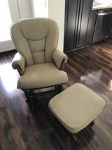 Tan Padded Glider/Rocking Chair in bookoo, US