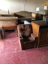 Brown Child's Recliner W/ Cup Holder in Fort Polk, Louisiana