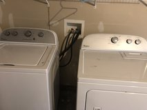 Whirlpool washer and dryer in Colorado Springs, Colorado