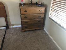 All wood dresser in Fort Carson, Colorado