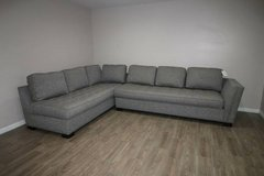 NOW ON SALE!! $550! Cindy Crawford Sectional in Gray in Tomball, Texas