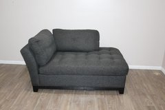 Black Couch (chase) EXCELLENT condition in CyFair, Texas