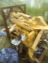 Caterpillar D3304pC engine runs in The Woodlands, Texas