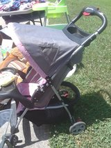 pink and gray kolcraft stroller in Fort Campbell, Kentucky
