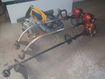 1-REMINGTON RM2560-2-HOMELITE WEED TRIMMERS-1 RYOBI BACKPACK BLOWER in Westmont, Illinois