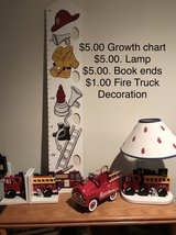 Fire Truck Room Decorations in Joliet, Illinois