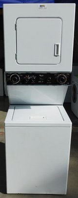 STACK WHIRLPOOL WASHER & DRYER ( 24'IN 220V ) in Camp Pendleton, California