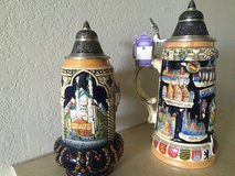 Original German Beer Steins in Pearl Harbor, Hawaii