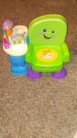 fisher price song and story learning chair in Fort Campbell, Kentucky