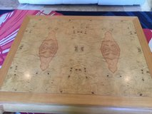 REDUCED! Solid Oak & Bird's Eye Maple Cocktail Table in Conroe, Texas