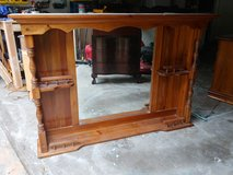 Solid Wood Hutch Top from Dresser in Houston, Texas