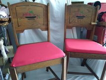 Pair 1950's Kitchen Chairs in New Lenox, Illinois