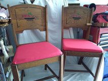 Pair 1950's Kitchen Chairs in Joliet, Illinois