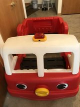 step 2 toddler fire truck bed in New Lenox, Illinois