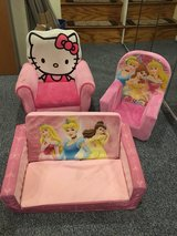 Kids/Toddler Chairs Couch in New Lenox, Illinois