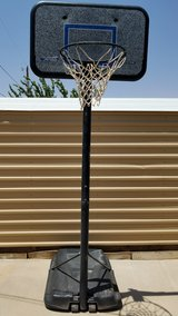 basketball court in Fort Bliss, Texas
