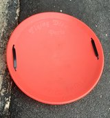 Sled Flying Disc Saucer in St. Charles, Illinois