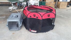 Pet Playpen and Small Carrier in Hinesville, Georgia