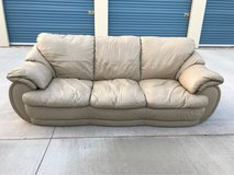 2 Leather Couches in Tinker AFB, Oklahoma