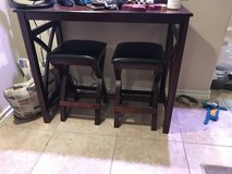 Side bar table with chairs in Fort Sam Houston, Texas