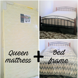 Bed frame & mattress in Okinawa, Japan