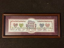 Plaque - Most of all, Let Love Guide Your Life in Naperville, Illinois