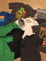 Lot of 12 summer boys T shirts  sz8 Like New in Morris, Illinois