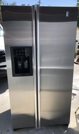Ge profile stainless steel refrigerator in Vista, California