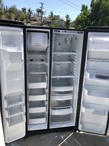 Ge profile stainless steel refrigerator. in Vista, California