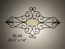 Metal wall Scroll Decorations in Joliet, Illinois