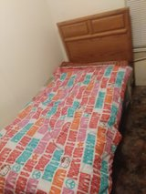 Twin bed in Fort Polk, Louisiana