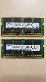 Samsung 8GB DDR3 PC3-12800 Laptop SODIMM memory. in Ramstein, Germany