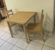 Kids Table with 2 chairs in Ramstein, Germany