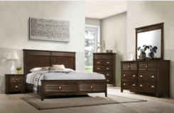 Multi QS Bed Set as Shown with Drawers in the Footboard including delivery in Spangdahlem, Germany