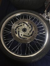 Motorcycle Wheels- must sell in Palatine, Illinois