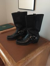 Ladies Frye Motorcycle Boots 7 1/2 in Lackland AFB, Texas