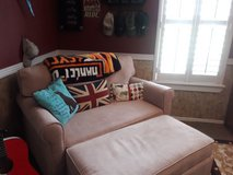 Over sized twin bed chair and otterman in Kingwood, Texas