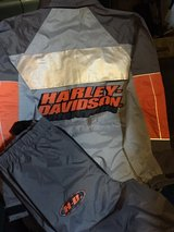 Harvey Davidson rain gear in Fort Campbell, Kentucky