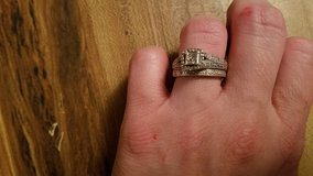 Engagement and wedding ring set in Fort Polk, Louisiana