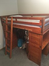 Twin Bunk Bed Set with Dresser and 1 Mattress in Morris, Illinois