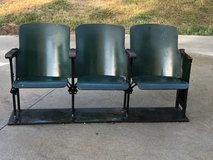 Antique Wooden Theater Seats in Fort Campbell, Kentucky