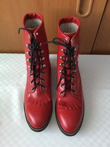 Womens Red Cowboy Boots - 9.5 in Ramstein, Germany
