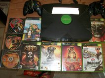 XBOX  2 controllers and 9 games in Byron, Georgia
