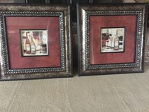 2 Framed Wine  Theme Pictures - Artwork in Naperville, Illinois