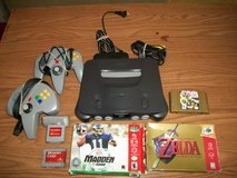 Nintendo  64  with accessories in Byron, Georgia